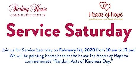 Service Saturday tickets