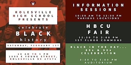 Rolesville High School Black History Event