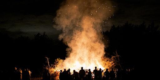 Epic Bonfire at Bloomsbury Farm