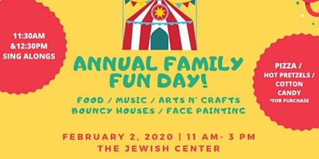 17th Annual Oneg Shabbat of The West Side Family Fun Day tickets