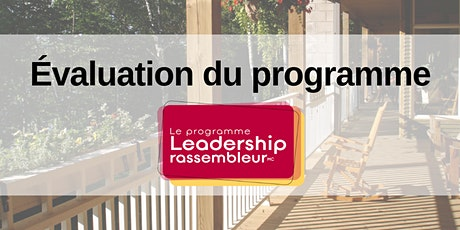 Groupe de discussion - Évaluation Leadership RassembleurMC tickets