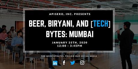 Beer, Biryani, & [tech] Bytes: Mumbai tickets