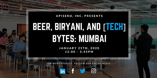 Beer, Biryani, & [tech] Bytes: Mumbai