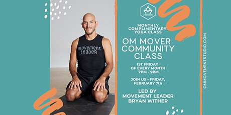 OM Mover Community Class with Bryan Wither tickets