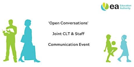 Staff - Open Conversations Event - North West Teachers Centre tickets