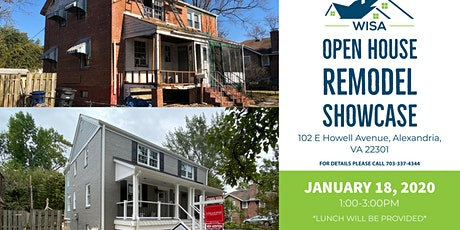 January 18th- Del Ray Full Home Remodel Showcase by WISA tickets