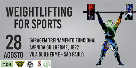 WEIGHTLIFTING FOR SPORTS LEVEL 1 - CT.GARAGEM FUNCIONAL ingressos
