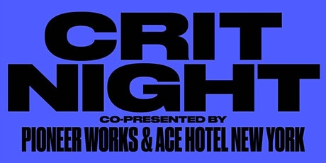 Crit Night tickets