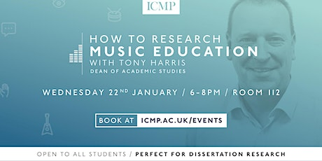 How To Research Music Education tickets