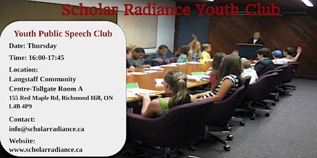 Youth Public Speech - Free Trial Class tickets