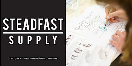 DIY Workshop | Intro to Hand Lettering tickets