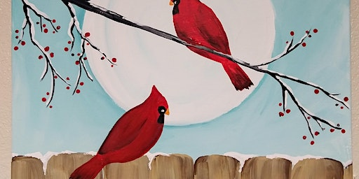 Cardinal Paint and Sip Paint Nite 2