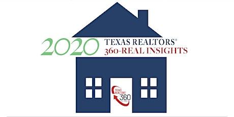 2020 Texas REALTORS 360-REAL INSIGHTS tickets