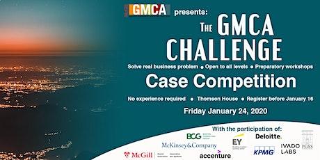 McGill GMCA Challenge 2020 billets