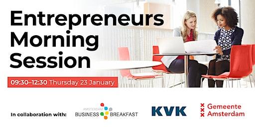 Entrepreneurs Morning Session