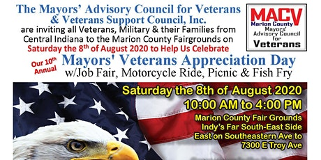 Mayors' Veterans Appreciation Day, 10th Annual tickets