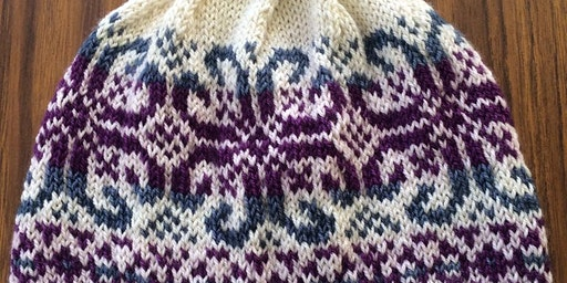 Fair Isle Hat Knitting - February 2020