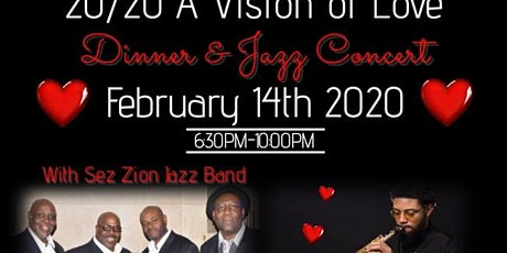 20/20 A Vision of Love Dinner & Jazz Concert tickets