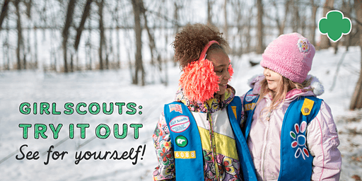 Girl Scouts: Try It Out Event for K-1st grade girls in Howard Lake