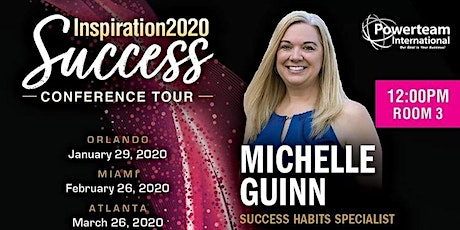 Inspiration 2020 Success Conference tickets