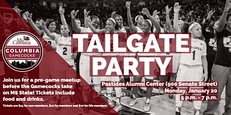 Columbia Gamecocks Women's Basketball Tailgate Party tickets