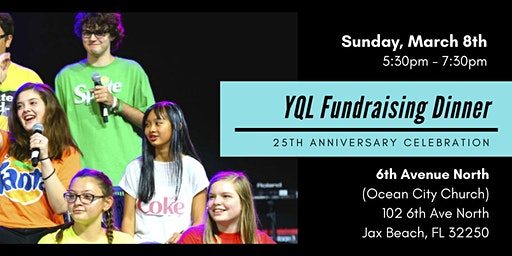 YouthQuake Live's fundraising Dinner