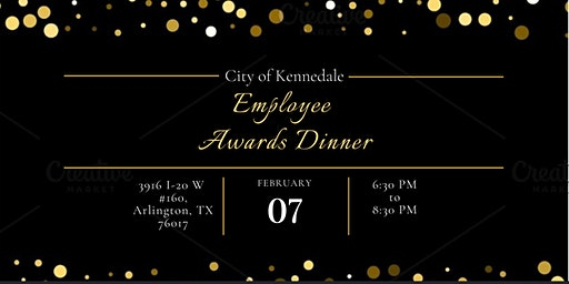 Kennedale Employee Awards Dinner