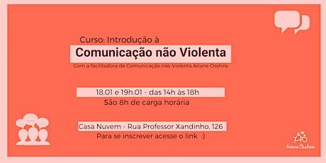 Curso  Introdução à Comunicação não Violenta ingressos
