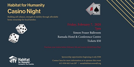 Habitat for Humanity Casino Night tickets