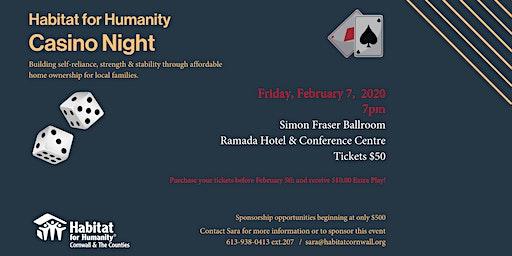 Habitat for Humanity Casino Night