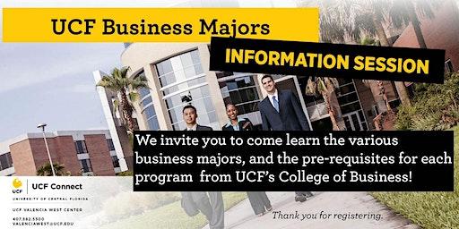 UCF Information Session: Business Majors