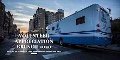 The Night Ministry - 2020 Volunteer Appreciation Brunch tickets