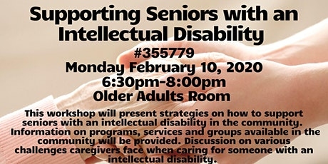 Supporting Seniors with an Intellectual Disability  tickets