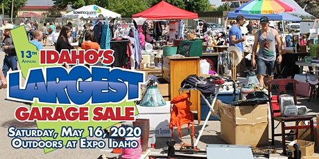 Idaho's Largest Garage Sale 2020 tickets