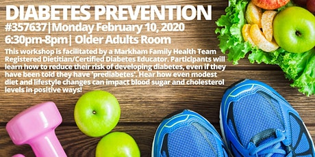 Diabetes Prevention  tickets