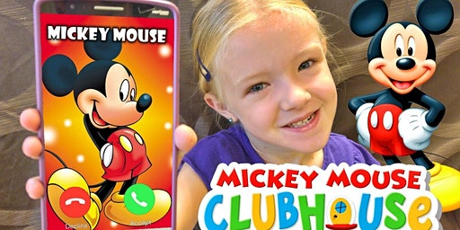 Tickled Tots Call A Character W/Mickey Mouse