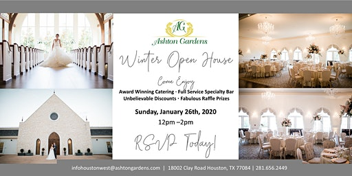 Ashton Gardens Houston West 2020 Winter Open House