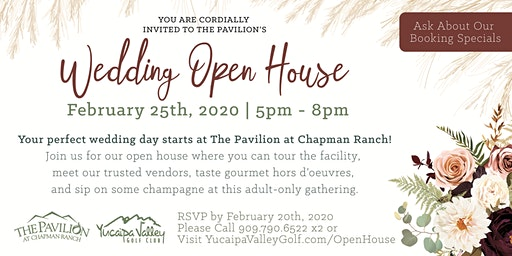 The Pavilion at Chapman Ranch  Wedding Open House