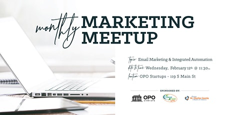 February's Marketing Meetup - Email Marketing & Integrated Automation Tickets