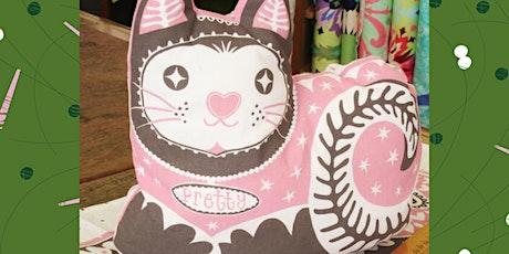 Pretty Kitty Cushion Beginner's Sewing Workshop tickets