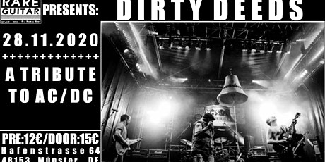 AUSVERKAUFT! DIRTY DEEDS – A Tribute to AC/DC Tickets