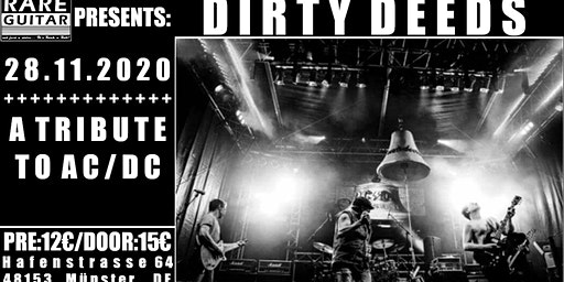 DIRTY DEEDS – A Tribute to AC/DC