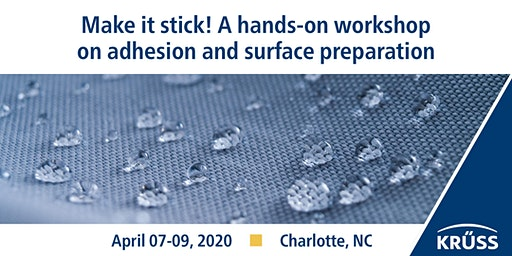 Make it stick! A hands-on workshop on adhesion and surface preparation