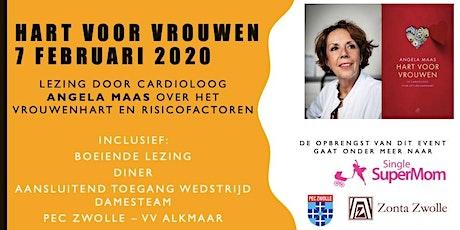 """Zonta Zwolle: """"Hart voor Vrouwen"""" tickets"""