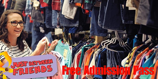 Free Admission Shopping Pass - JBF Northshore Sping 2020