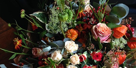 Autumn Hand Tied Designs with Bramble & Wild tickets