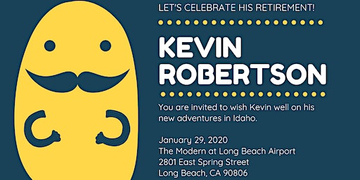 Kevin Robertson's Retirement Party