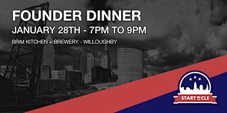Start in CLE Founder Dinner - January 2020 tickets