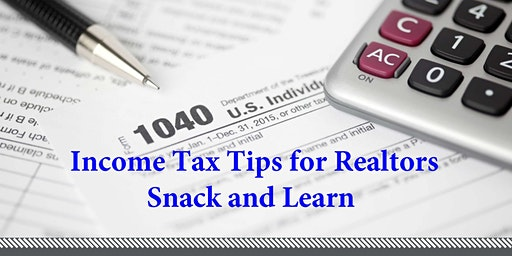 Income Tax Tips for Realtors