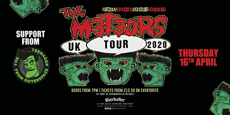The Meteors plus dj set from The teenager from outer space tickets